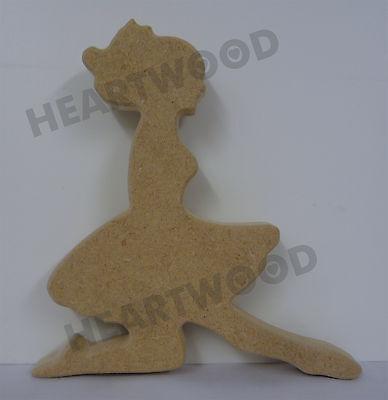 Irish dance dress shape in MDF 150mm x 18mm thick //Wooden craft