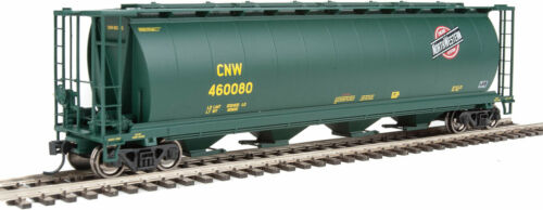 Walthers HO Scale 59' Cylindrical Hopper Chicago & North WesternCNW #460093