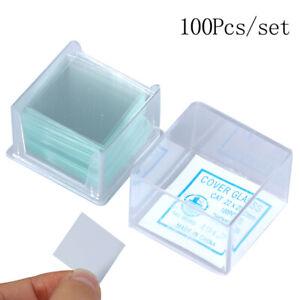 100-Pcs-Transparent-Square-Glass-Slides-Coverslips-Coverslides-For-Microscope-SS