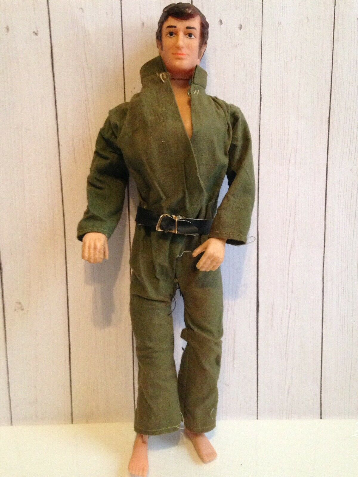 Vintage Clone G.I. Joe Army Military Man Doll Doll Doll Action Figure Hong Kong plastic 48f9ee