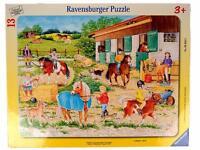 Ravensburger Riding Camp 13 Piece Children's Puzzle Horse Stable Animal 0009