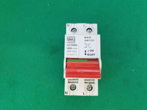 Mk LN5500s Principal Interruptor 100 Amp 2 polos