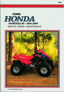 Clymer-Repair-Service-Manual-for-Honda-ATV-Fourtrax-93-94-95-96-97-98-99-00