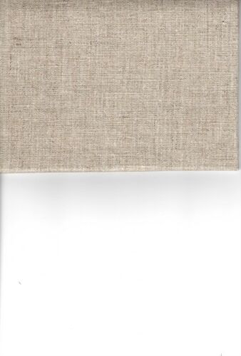 """100/% LINEN NEEDLEWORK FABRIC OR CROSS STITCH 36 CT 18/"""" X 20/"""" NATURAL"""