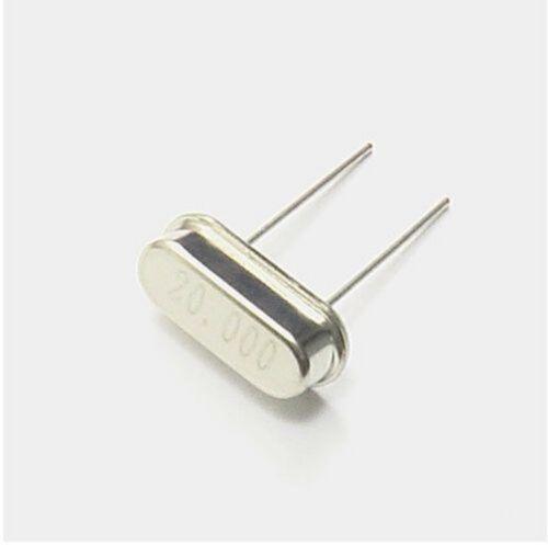 100 pcs 20.000MHZ 20MHZ HC-49S Low Profile Crystal Oscillator Resonator New