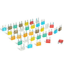 35 Piece Mini Blade Fuse AUTO Car 5/7.5/10/15/20/25/30 AMP PS 5Pcs Each Mixed