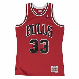 eb6bf7929 Image is loading Scottie-Pippen-Chicago-Bulls-Mitchell-amp-Ness-Throwback-