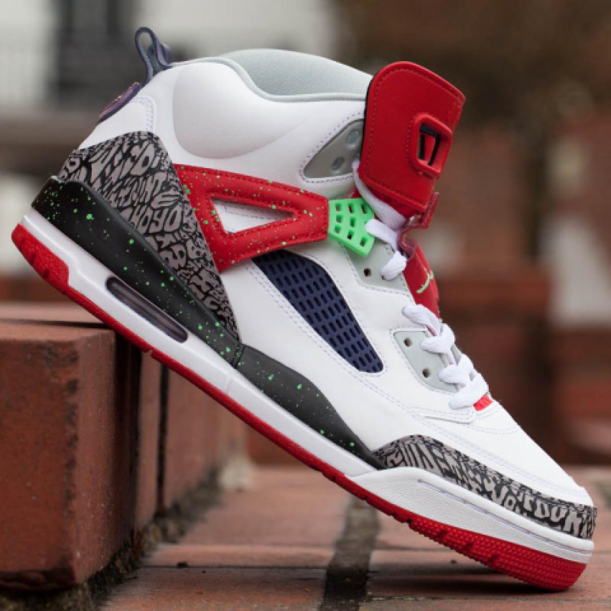 2015 Nike Air Jordan Spizike Retro Poison Green Size 13. 315371-132 1 2 3 4 5 6