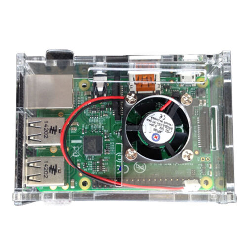 Raspberry Pi 2//3 5V 0.2A New Cooling Cooler Fan for Raspberry Pi Model B+