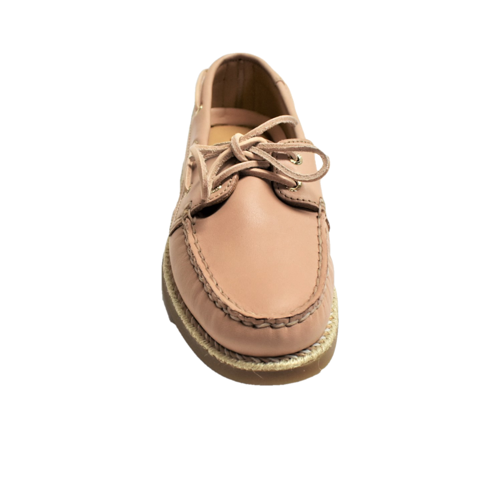 NEW Sperry Top-Sider Women AO AO AO Braided Jute 7 37.5 Lace-Up Boat shoes Leather eaeaa2