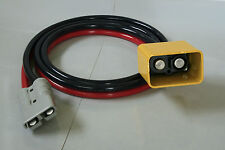 2 Meter Tail Lift Lead - Anderson Plug to Male Coupling (Cowbell)