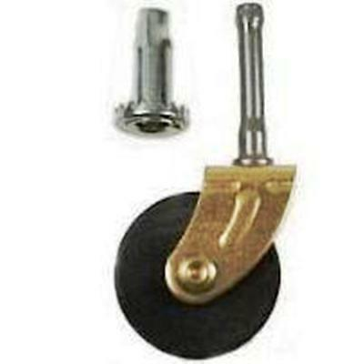 FURNITURE REPAIR PARTS PORCELAIN CASTERS P2413
