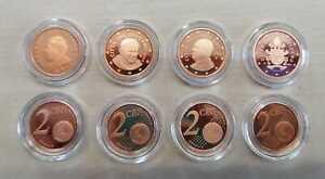 Vatikan  2 Cent  PP/Proof  (Wählen Sie zwischen den Jahrgängen: 2002 - 2017)