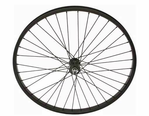 26  x 2.125 Alloy Front Wheel 12G Heavy Duty Spokes Bicycle Cycling Bikes