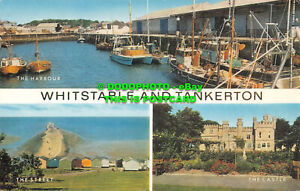 R553056 Whitstable and Tankerton. The Harbour. J. Salmon. Multi View