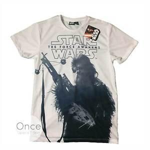 Primark Unisex Star Wars The Force Awakens Chewbacca T Shirt Ebay