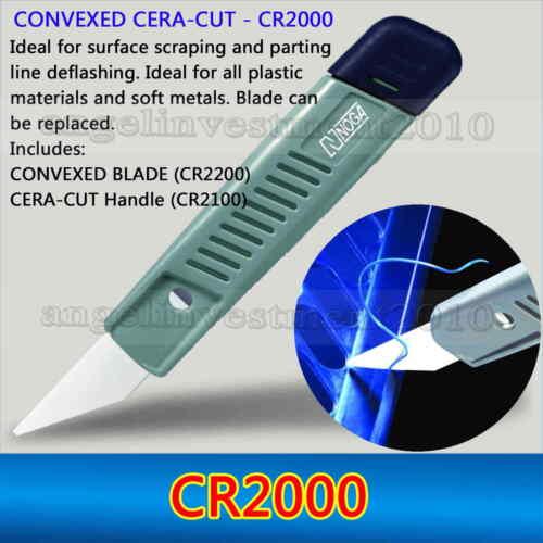 1 piece NOGA CONVEXED CERAMIC CUT CR2000 Deburring tool with CONVEXED BLADE