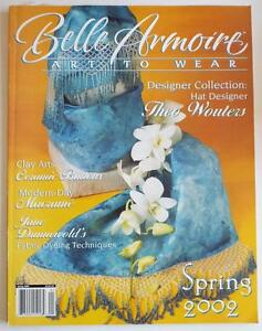 BELLE ARMOIRE Magazine ~ Art To Wear ~ Spring 2002 Issue ...