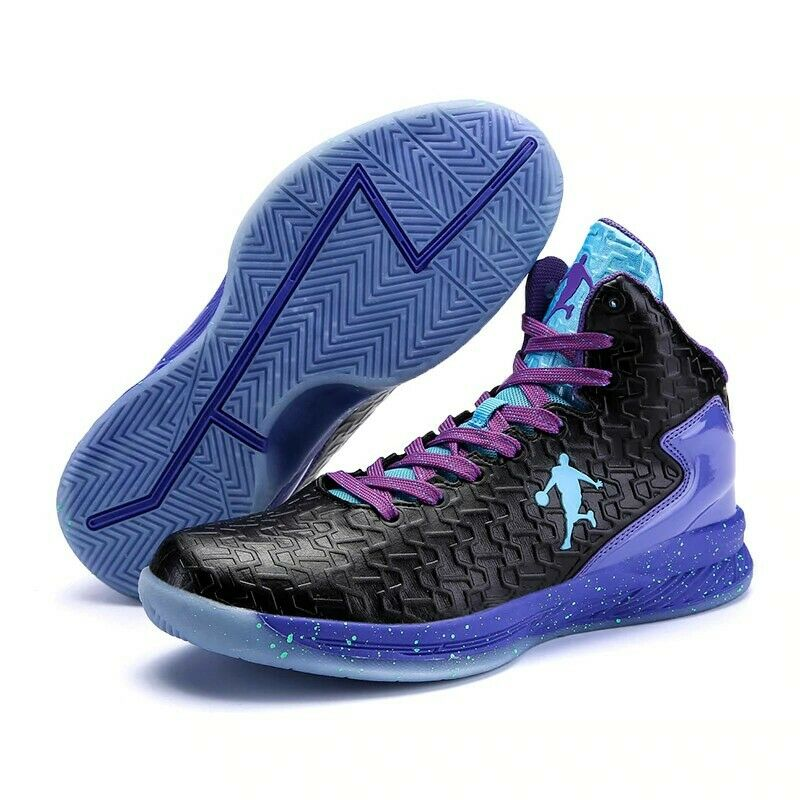 Mens Jordan Basketball shoes Cushioning Sneakers Sports Boot High Top Breathable