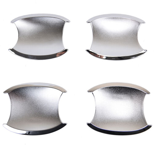 Chrome Door Handle Bowl Cup Cover Trim 4pcs For Honda CRV CR-V 2007 2008 09 2011