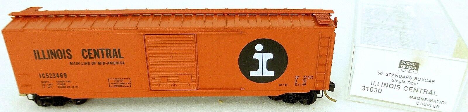 50´ Standard Boîte Illinois Centrale 523469 Micro Trains Ligne 31030 N 1 160 C Å