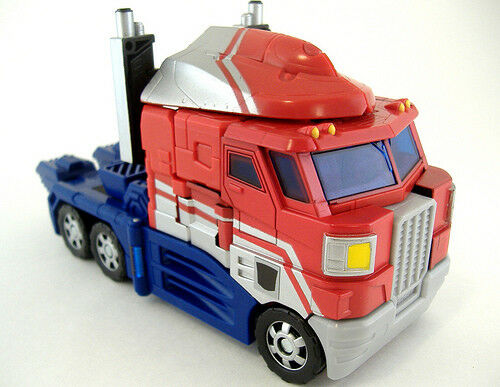 Transformers Classics Optimus Prime complet Rid Universe Voyager 2006