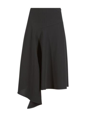 M/&S Aysymetric Hem A-Line Skirt Size 12  RRP £29.50