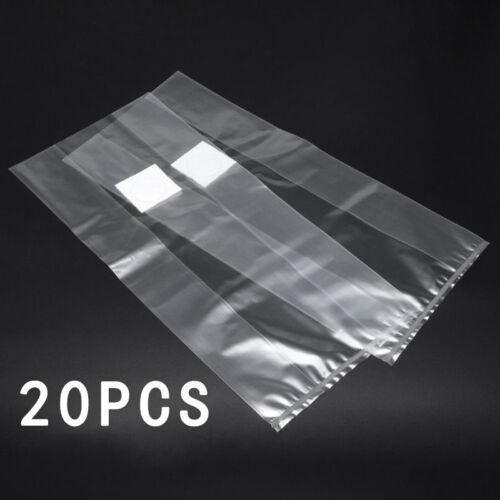 10//20//50x Clear PVC Mushroom Spawn Grow Bag Substrate High Temp Pre Sealable NEW
