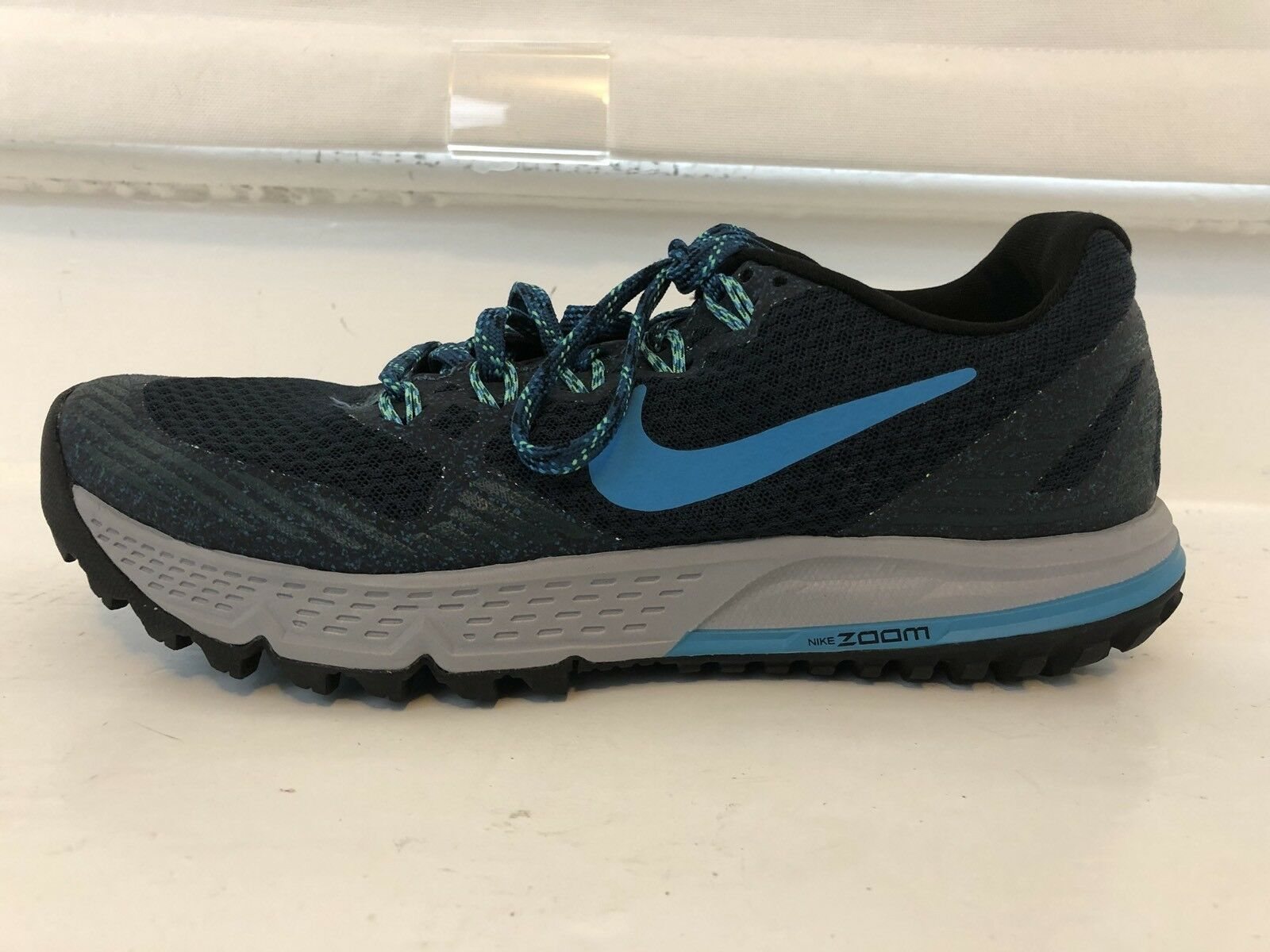 Nike Men's Zoom Wildhorse 3 Running shoes 7 bluee Trail MSRP  110 NEW