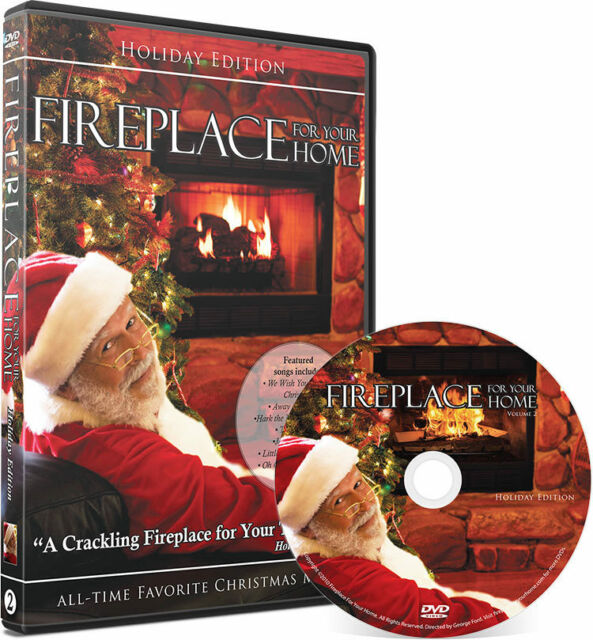 Fireplace Holiday Edition Fire Place For Your Home Dvd 2018 Shot In