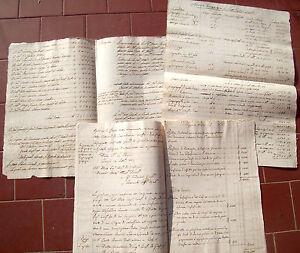 1829-LOTTO-DI-5-DOCUMENTI-DELLA-FAMIGLIA-CORRADI-DI-CARPI