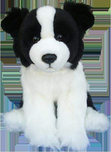 Faithful Amis ~ BORDER COLLIE ~ Souple Peluche/peluche ~ 30.5cm