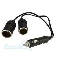 Dual Car Cigarette Lighter Charger Power Socket Adapter 12v Auto Outlet Splitte