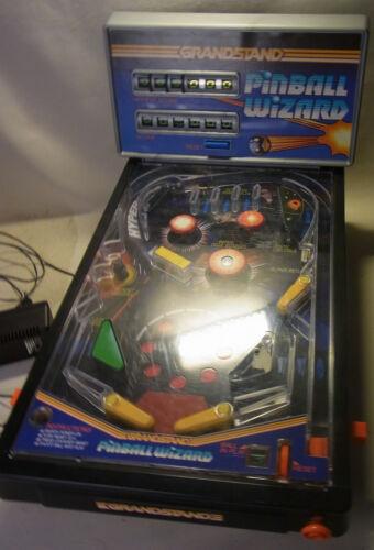 Tischflipper Spiel Flipper Grandstand TOMY PINBALL WIZARD Elektrisch Vintage