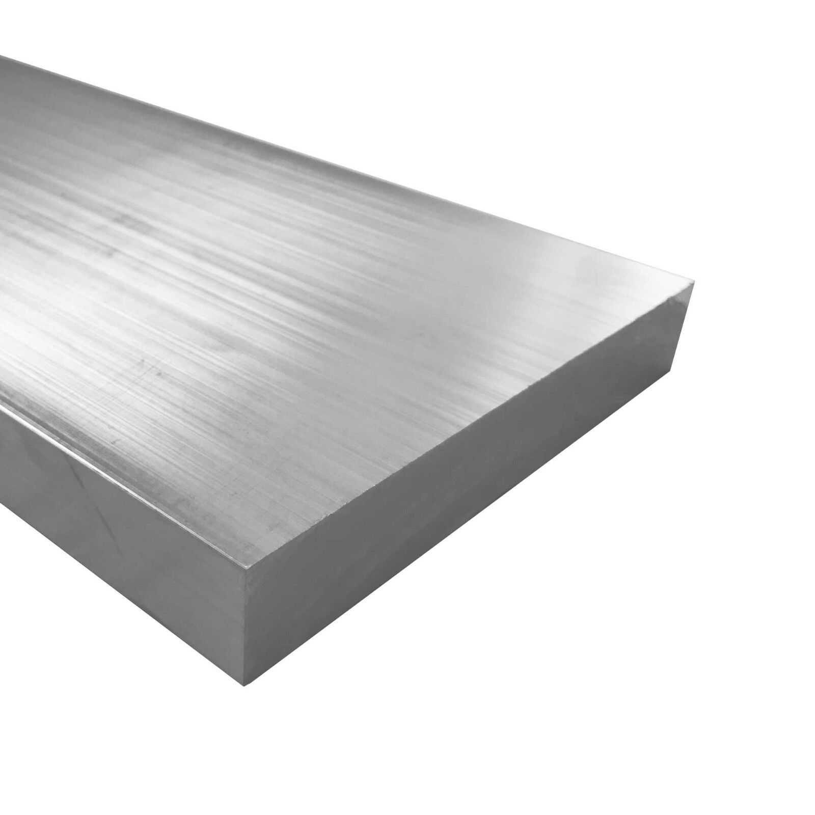 """3//4/"""" x 2/"""" Aluminum Flat Bar 0.75/"""" 36/"""" Length T6511 Mill Stock 6061 Plate"""