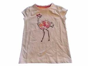 NWT-Girl-039-s-Gymboree-Everyday-Favorites-ostrich-short-sleeve-shirt-4-5-7-8