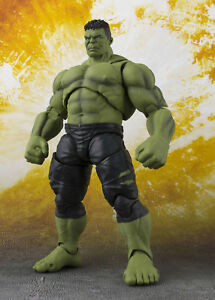 Marvel-AVENGERS-Infinity-War-Hulk-Actionfigur-BANDAI-Tamashii-ca-21cm-NEU-Toys