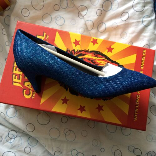 6 Jeffrey Fab Size Campbell Brea Blue Shoes aawUpqf