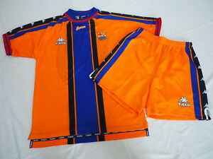 hot sale online a9085 88568 Details about 1997-1998 FC Barcelona Barca FCB Jersey Shirt Camiseta Shorts  Pants Away Kappa L