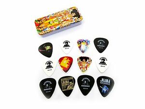 jimi hendrix guitar picks axis bold as love collectible tin 12 picks ebay. Black Bedroom Furniture Sets. Home Design Ideas