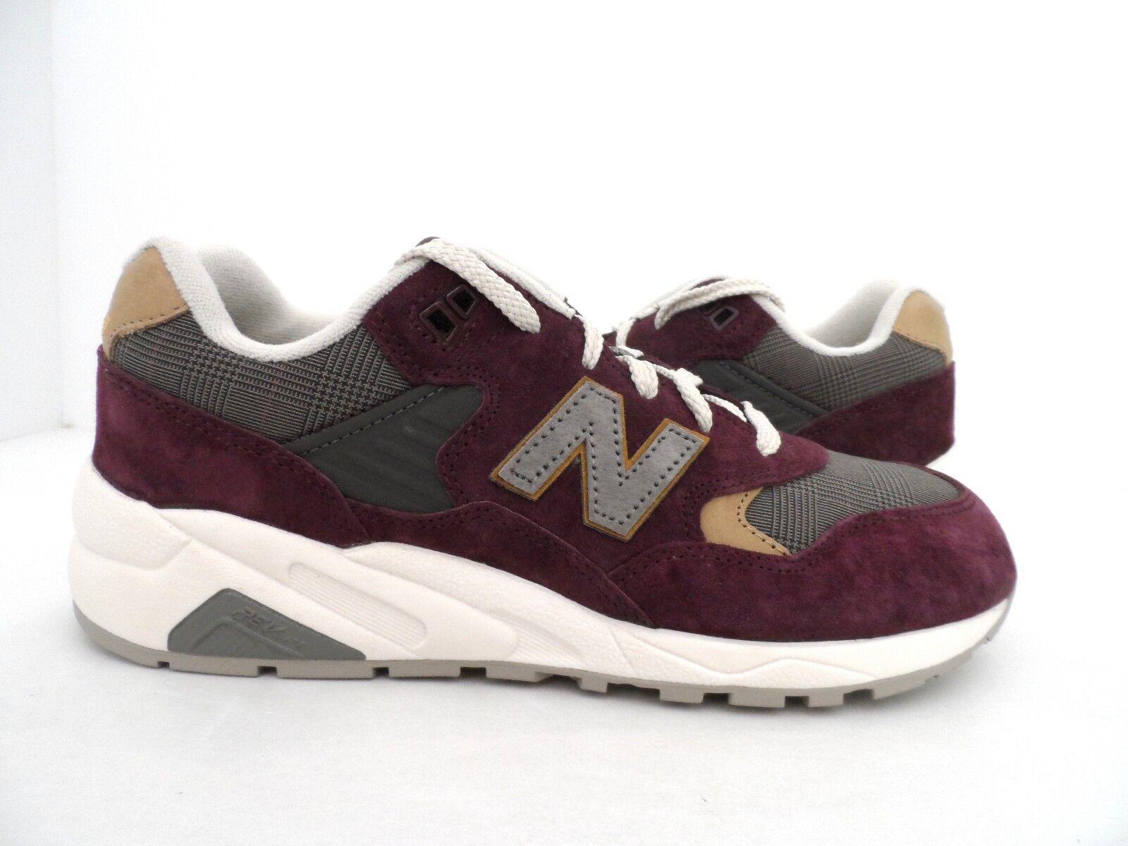 New Balance Women's 580 Running Shoe Burgundy Gray Size 8.5