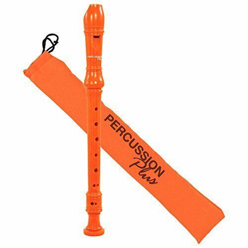 Orange Percussion Plus PP1614 Colourful Soprano Descant Recorder