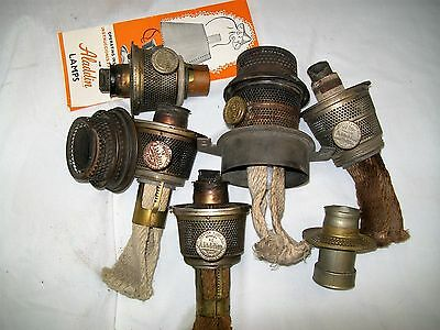 Aladdin lamp parts collection on ebay aladdin kerosene oil lamp burner parts lot model b 12 mozeypictures Choice Image