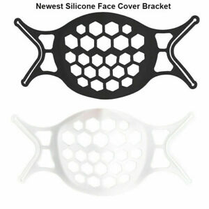 Newest 3D Silicone Soft Face Cover Inner Support Frame Bracket Reusable Holder