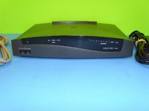 Cisco-837-Series-800A-Ethernet-Broadband-4-Port-Router-amp-Adapter
