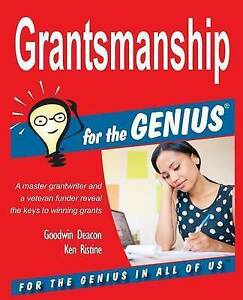 Grantsmanship-for-the-GENIUS-Brand-New-Free-P-amp-P-in-the-UK