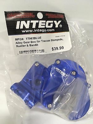 ALLOY GEAR BOX FOR TRAXXAS 1/10 STAMPEDE 2WD, RUSTLER & BANDIT XL5 T7983BLUE
