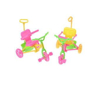 Cute-Plastic-Bike-Tricycle-with-Push-Handle-for-Dolls-Kids-Gift-NT