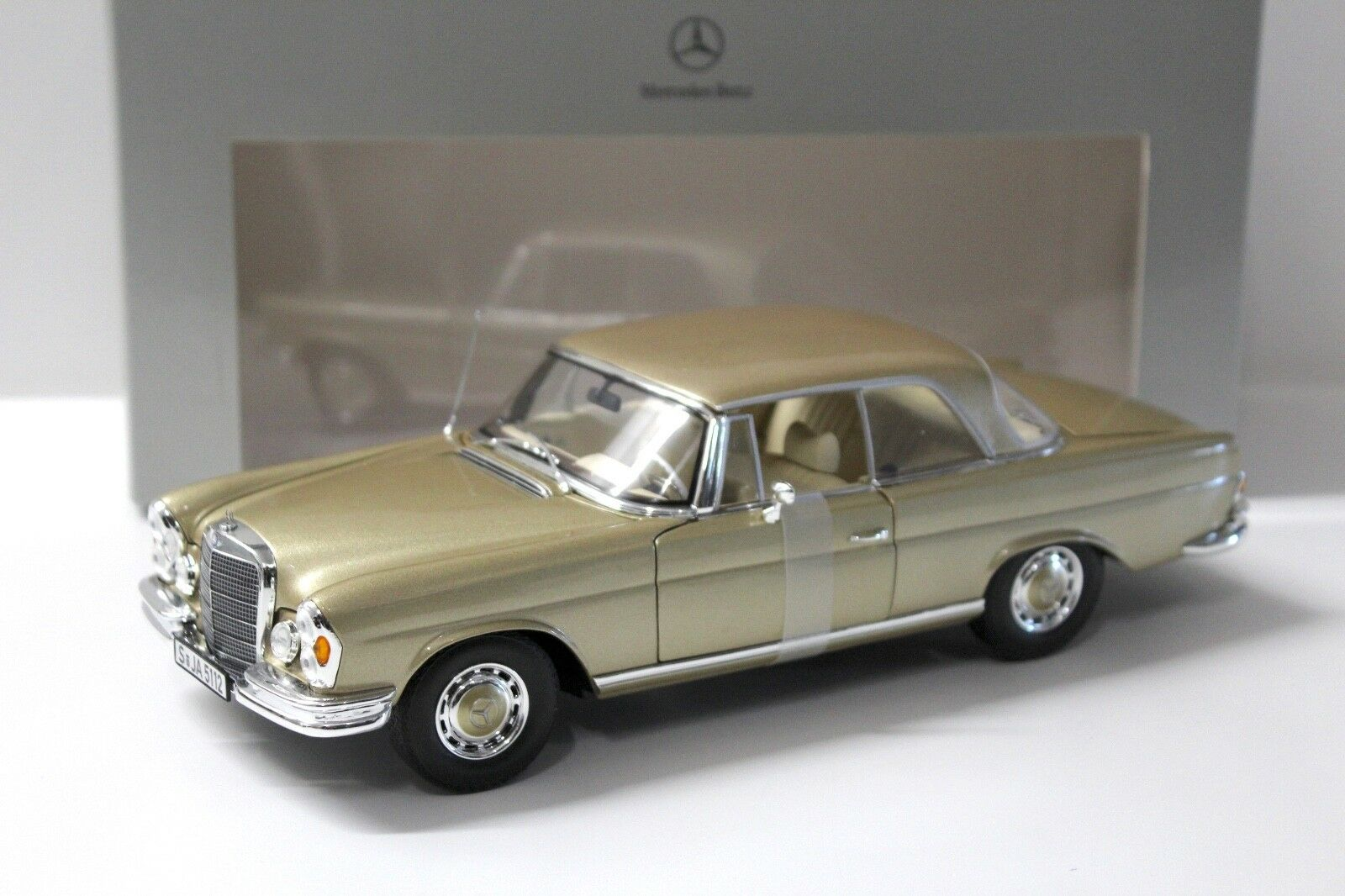 1:18 NOREV MERCEDES 280 se COUPE ORO spacciatori NEW in Premium-MODELCARS