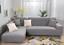 2PC-L-Shape-Stretch-Elastic-Fabric-Sofa-Cover-Slipcovers-Corner-Couch-Covers-set thumbnail 8